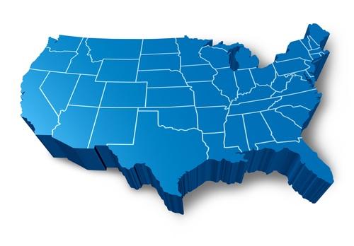 Locations Blue Spark Event Design Destination Management - Cool map of us
