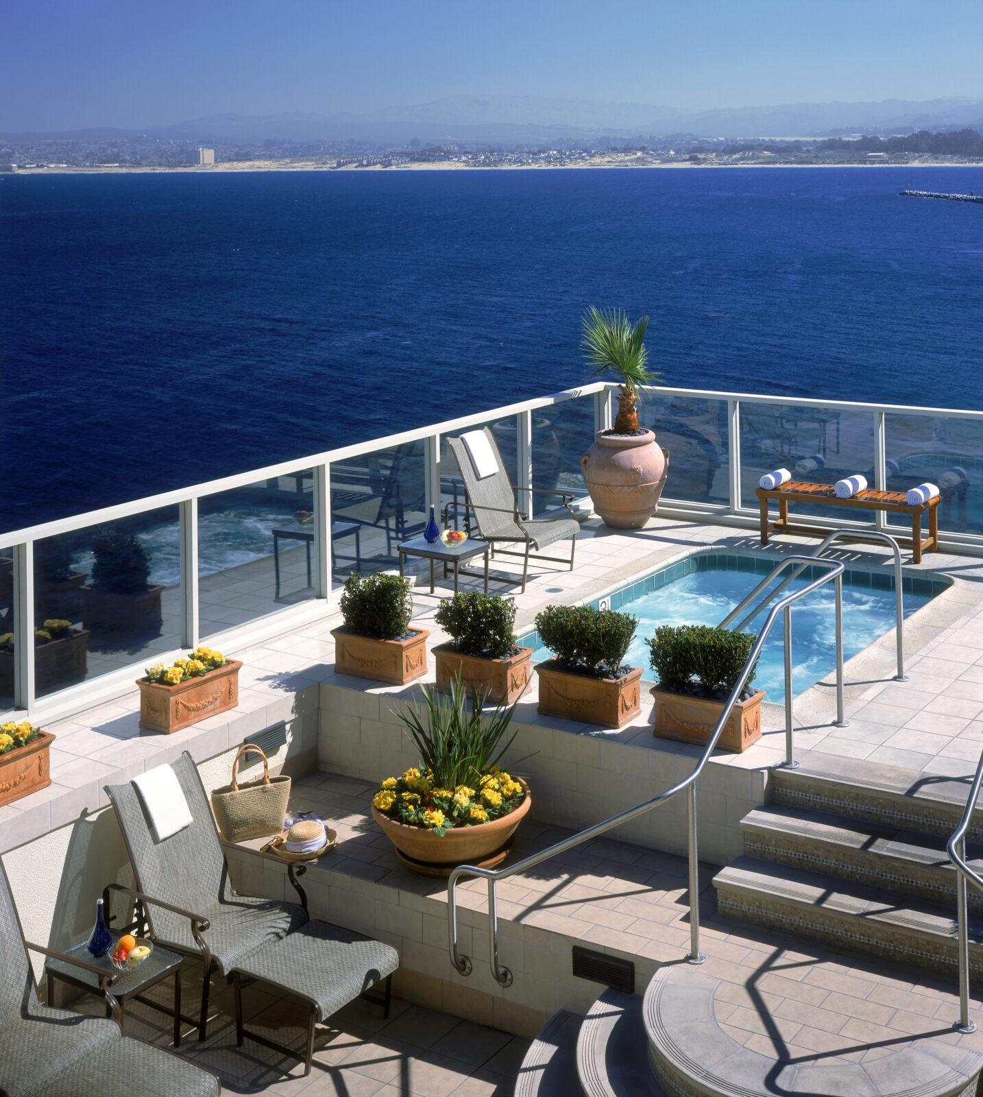 Monterey Plaza Hotel & Spa Deck