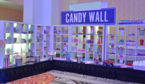 Blue Spark Event Design - Candy Wall Corner